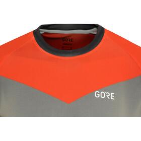 GORE WEAR C5 Trail Maillot manga corta Hombre, terra grey/orange